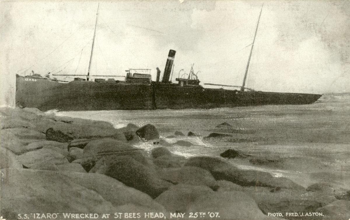 St Bees wreck - Izaro
