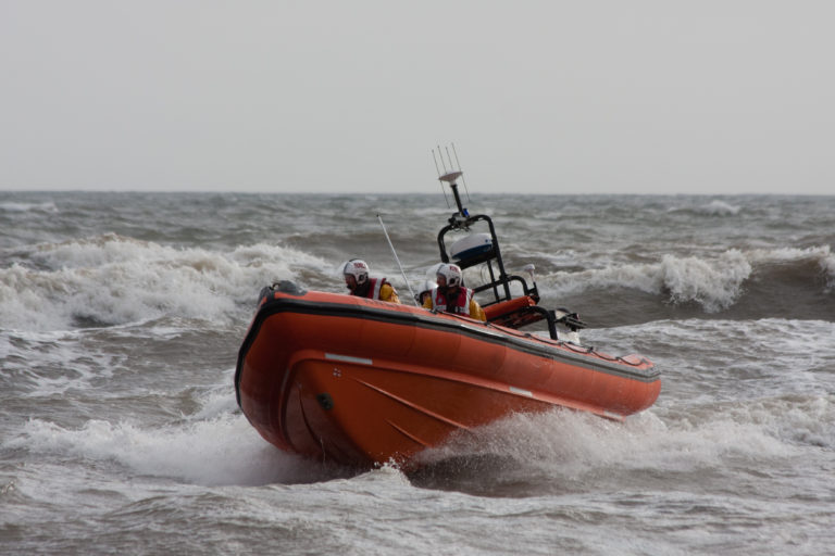 Lifeboat at sea - Martin Fish