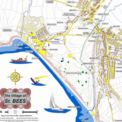 St Bees maps
