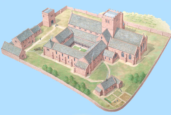 Priory drawing