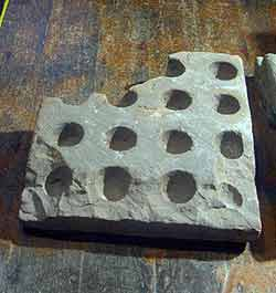Cresset stone