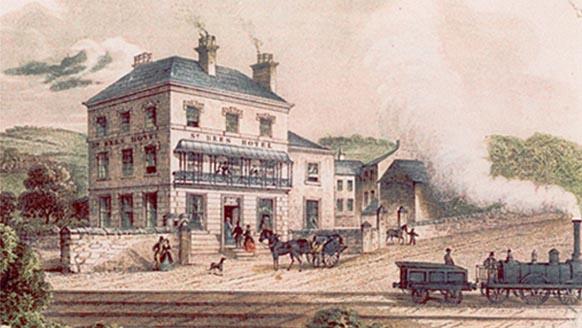 Railway & Hotel
