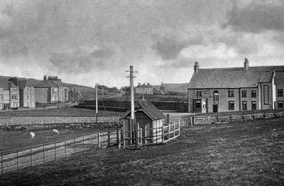 Telegraph hut